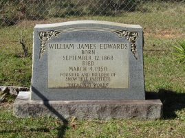 Principal Edwards and William Holtzclaw were close friends throughout their careers.